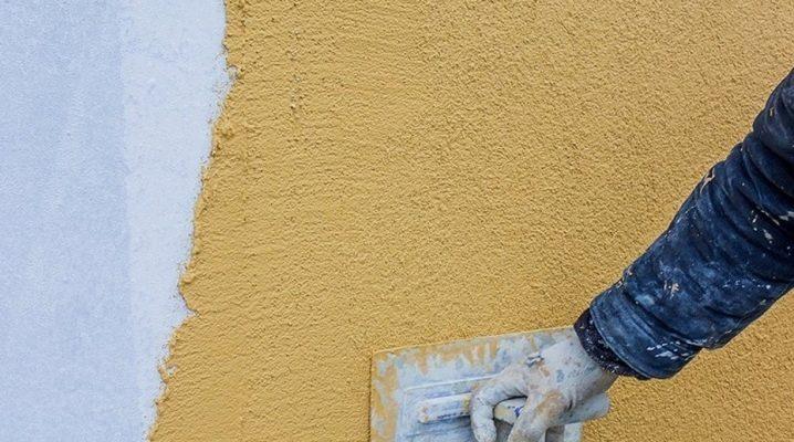 штукатурка фасадов цементным раствором