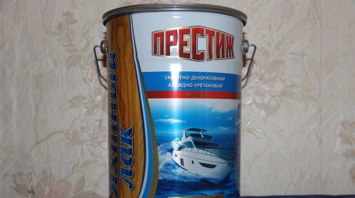 Яхтные лаки: основные особенности