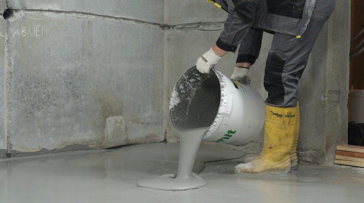 расход материалов на проливка цементным раствором