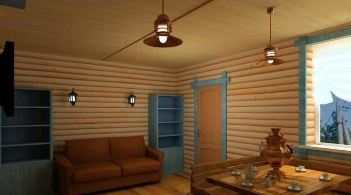Блок-хаус для внутренней отделки: особенности материала и работы с ним