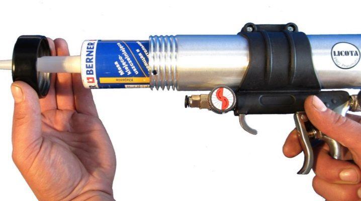 Как правильно пользоваться пистолетом для герметика?