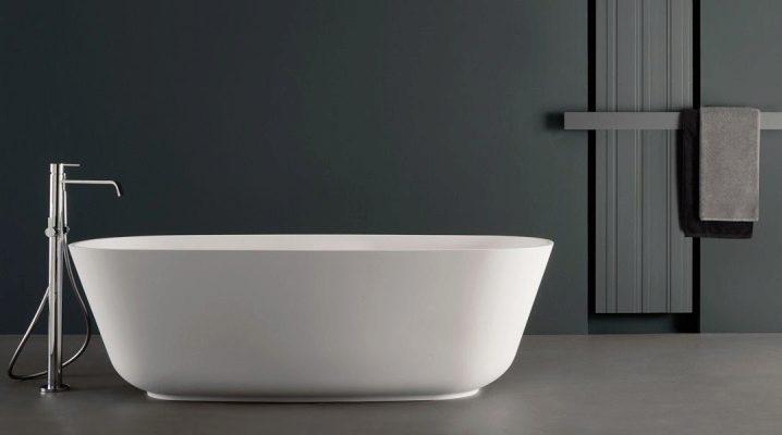Напольные смесители для ванны: особенности конструкций, виды и дизайн