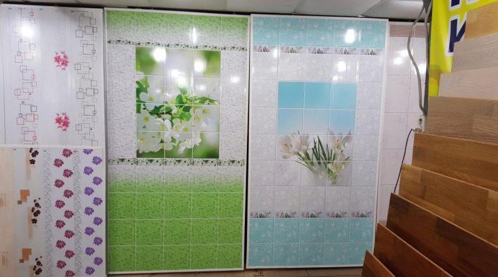 Панели ПВХ для ванной: варианты оформления и монтаж
