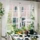 Готовые шторы для кухни