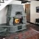 Камин-печка для отопления дома