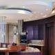 Потолки из гипсокартона для кухни и гостиной