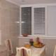 Современные жалюзи и шторы на кухню