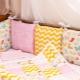 Бортики в кроватку для девочки