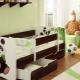 Детская кровать для детей от 3 до 5 лет