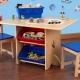 Детский деревянный стульчик со столом
