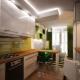 Дизайн кухни-гостиной площадью 17 кв. м.