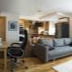 Дизайн студии площадью 15 кв. м.