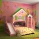 Домик-кровать для девочки