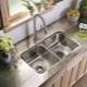 Сифон для кухонной мойки с переливом