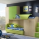 Двухъярусная кровать для детей со шкафом