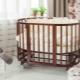 Круглые кроватки для новорожденных