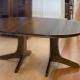 Круглый раздвижной стол на кухню