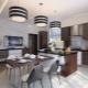 Кухни-студии в частном доме