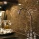 Мозаика на фартук в кухне