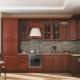 Напольный высокий шкаф для кухни