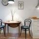 Полукруглый стол для кухни
