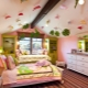 Потолок из гипсокартона в детской комнате