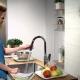 Смеситель для кухни с выдвижной лейкой