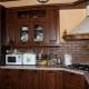 Угловые напольные кухонные шкафы