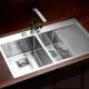 Врезные кухонные мойки из нержавеющей стали