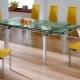 Кухонный стол в интерьере кухни