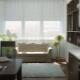 Узкий прямой диван на кухню