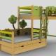 Детская двухъярусная кровать Ikea
