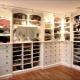 Дизайн-проекты гардеробных комнат