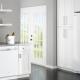 Холодильники из белого стекла