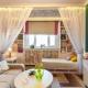 Дизайн маленькой спальни-гостиной