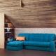Угловой диван с механизмом «Аккордеон»