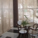 Оригинальные нитяные шторы