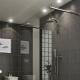 Точечные светильники в ванную комнату