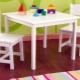 Деревянный детский стол: особенности выбора