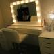 Гримерные столики с зеркалом и подсветкой