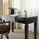 Письменные столы темного цвета в интерьере