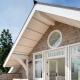 Модная планировка дома размера 6х8 м с мансардой