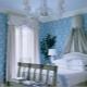 Подбираем шторы к голубым обоям: стильные решения в интерьере