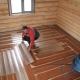 Виды утеплителей для пола в деревянном доме
