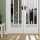 Замена стекла в межкомнатной двери