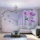 3D-обои для зала: расширяем границы в квартире