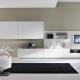 Белая мебель для гостиной: советы по выбору