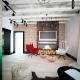 Гостиная в стиле «лофт»: особенности дизайна интерьера