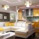 Интерьер кухни-гостиной: стильный дизайн совмещенной комнаты
