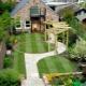 Ландшафтный дизайн: тонкости оформления узкого участка